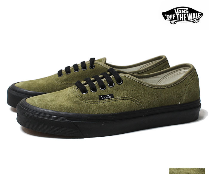 7112769156 VANS バンズ 限定モデル ANAHEIM FACTORY COLLECTION   OG OLIVE SUEDE   オーセンティック