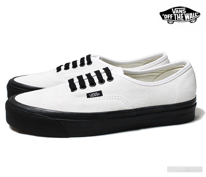 5b255d40 VANS vans-limited model ANAHEIM FACTORY COLLECTION ''OG WHITE/SUEDE''  authentic UA AUTHENTIC 44 DX white suede cloth black sole 2018AW ...