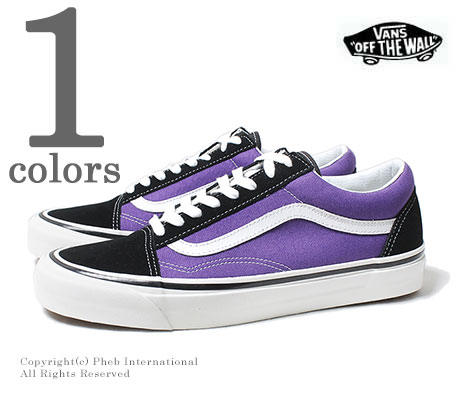 978003fd0e VANS limited model ANAHEIM FACTORY   OG BRIGHT PURPLE   OLD SKOOL 36 DX  (VN0A38G2QWA-PURPLE)