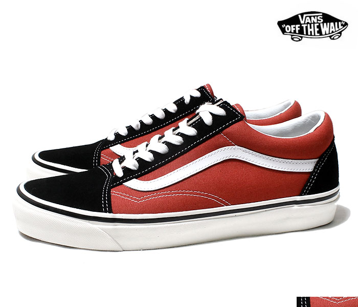 2612c41e6a VANS バンズ 限定モデル ANAHEIM FACTORY COLLECTION OLD SKOOL 36 DX BLACK RED オールドスクール