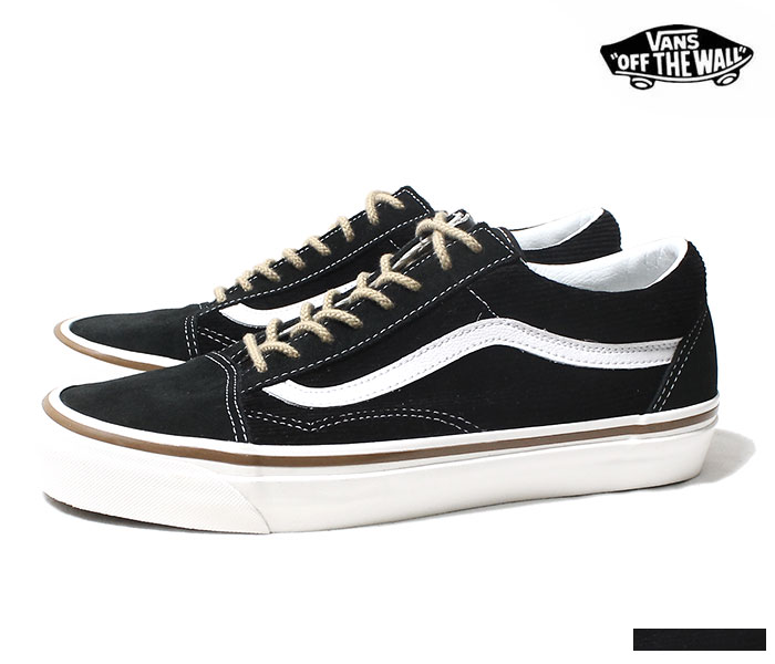 17ad0b13ae1 VANS バンズ 限定モデル ANAHEIM FACTORY COLLECTION   OG BLACK SUEDE CORDUROY