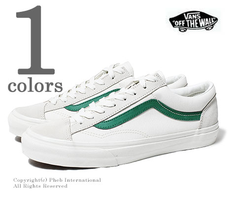 a71fe1177f66 VANS STYLE 36 Marshmallow jolly green OLD SKOOL sneakers (VN0A3DZ3RFX-GRN)