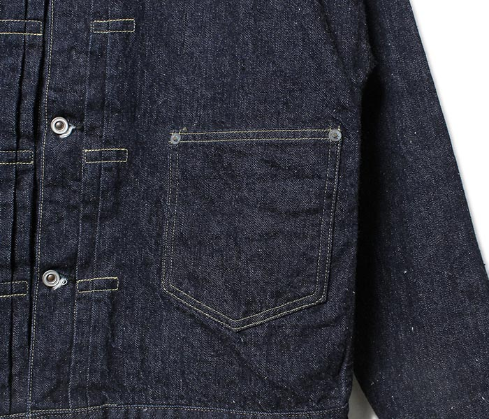 HELLER'S CAFE BY WAREHOUSE made in Japan 1910's EARLY MODEL DENIM JACKET 1910's early model denim jacket denim (HC-1910)