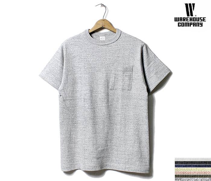 ウエアハウス WAREHOUSE プレーン ポケT Tシャツ ポケット MADE IN JAPAN (WH4601-POCKET-TEE)