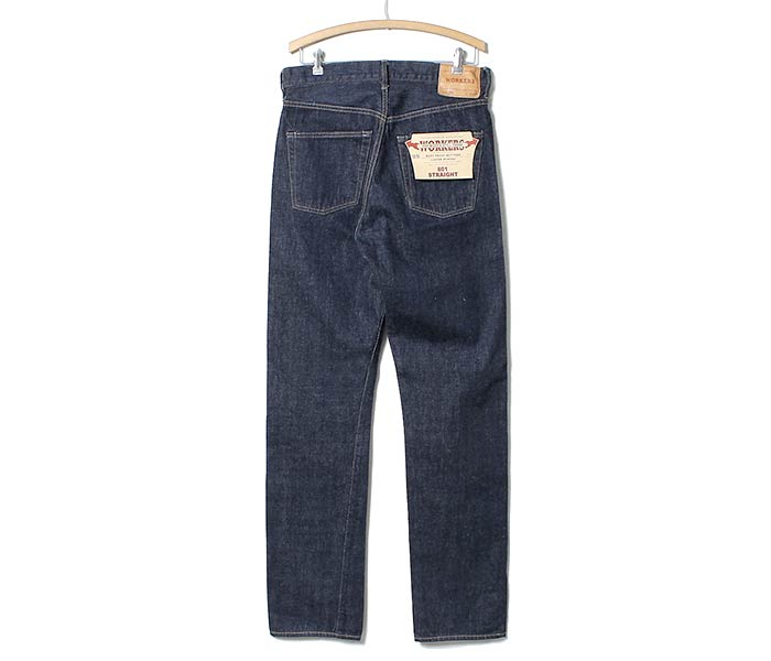 WORKERS made in Japan ''Lot801'' straight jeans denim (LOT801-STRAIGHT-JEANS)