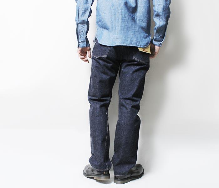 "WORKERS 日本制造 ""Lot801""直筒牛仔裤·牛仔(LOT801-直筒-牛仔裤)"