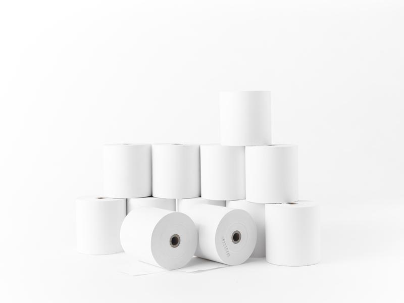 レシート用紙(サーマルロール紙) 80×80×12 中保存 80巻