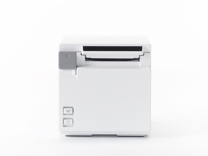 【最安値に挑戦!!】 コンパクトレシートプリンター TM-m10 LANタイプ/ホワイト