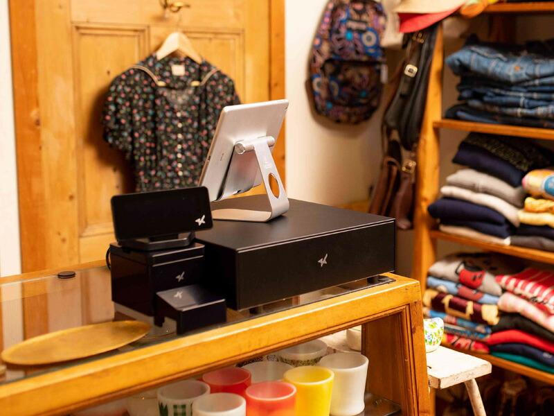 スター精密 mC-Print3 & カスタマーディスプレイSCD222U & mC-Drawer セット/ブラック【スマレジ対応】