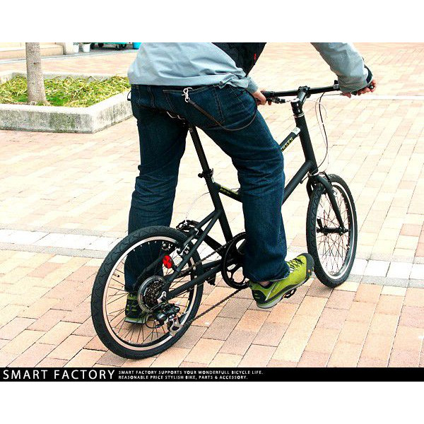 ( vaxene ) in WACHSEN bike 20 inch BV-207 aluminum compact cycle 7-stage gear Stra (strA) bike shop