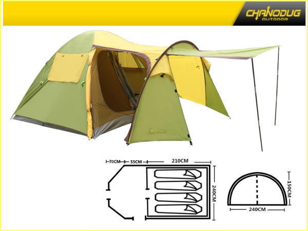 CHANDUGテント 5人用 キャンプテント