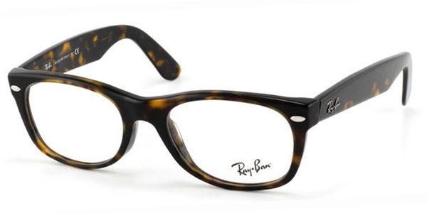 【海外直送】Ray Ban レイバン ユニセックス メガネ Ray-Ban RX5184F New Wayfarer Asian Fit 52 サイズ 正規品 安い ケース&クロス付