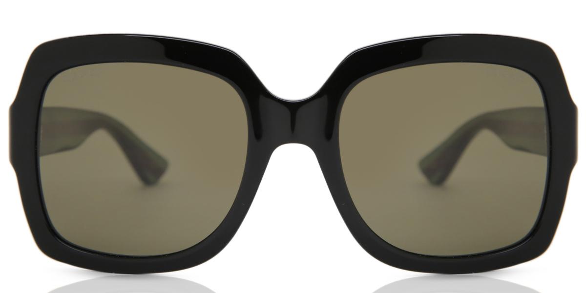 【海外直送】Gucciグッチ レディース サングラスGucci GG0036S 54サイズ 正規品 安い ケース&クロス付UVカット 紫外線カット