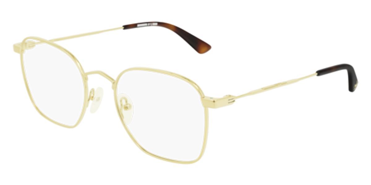 【海外直送】McQマック メンズ メガネMcQ MQ0206O 002 52サイズ 正規品 安い ケース&クロス付