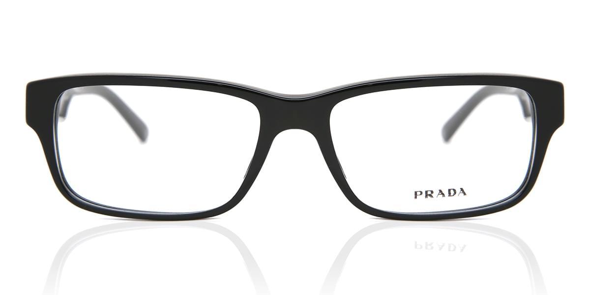 【海外直送】PradaプラダUnisexユニセックス メガネPrada PR16MVA 1AB1O1 55サイズ 正規品 安い ケース&クロス付