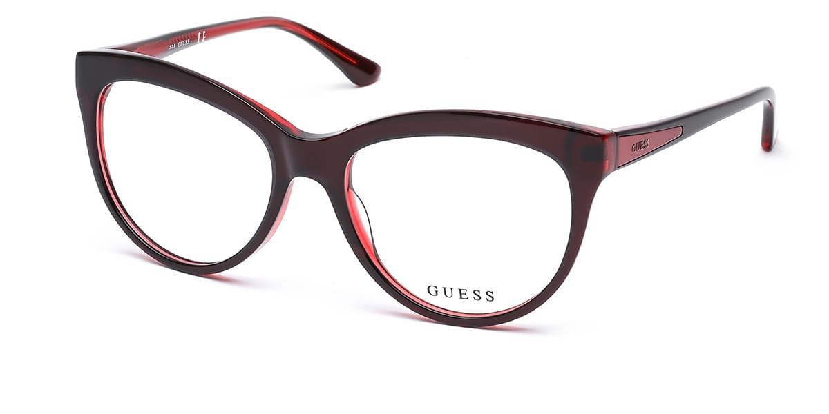【海外直送】GuessゲスWomenレディース メガネGuess GU 2464 F68 54サイズ 正規品 安い ケース&クロス付