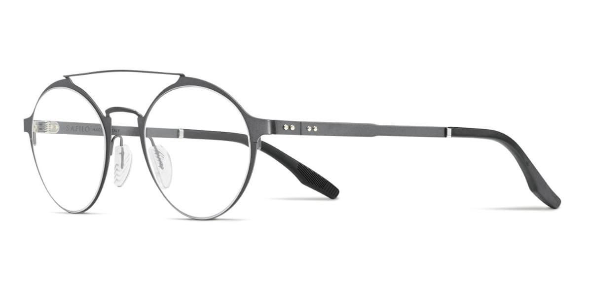 【海外直送】Safilo Safilo Menメンズ メガネSafilo CANALINO 01 R80 48サイズ 正規品 安い ケース&クロス付 超 軽量 薄い