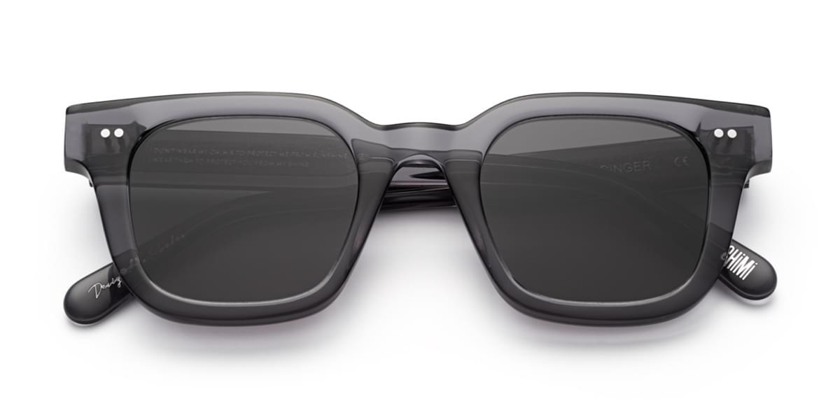 【海外直送】CHIMI CHIMI Unisexユニセックス サングラスCHIMI #004 Ginger Black 46サイズ 正規品 安い ケース&クロス付