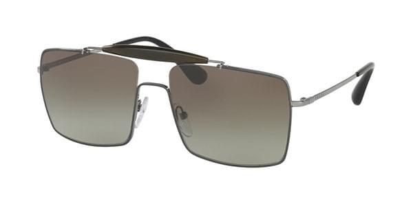 【海外直送】Pradaプラダ メンズ サングラスPrada PR57SS UFT5O2 58サイズ 正規品 安い ケース&クロス付 超 軽量 薄い