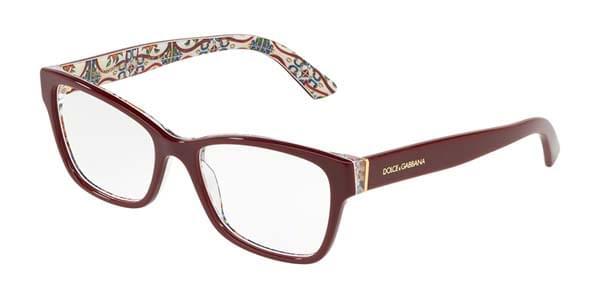 【海外直送】Dolce & Gabbanaドルチェ&ガッバーナ レディース メガネDolce & Gabbana DG3274 3179 52サイズ 正規品 安い ケース&クロス付
