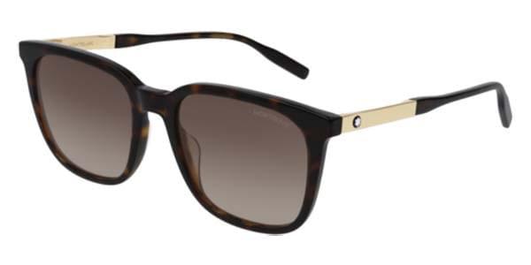 【海外直送】Mont Blancモンブラン メンズ サングラスMont Blanc MB0017S 002 53サイズ 正規品 安い ケース&クロス付