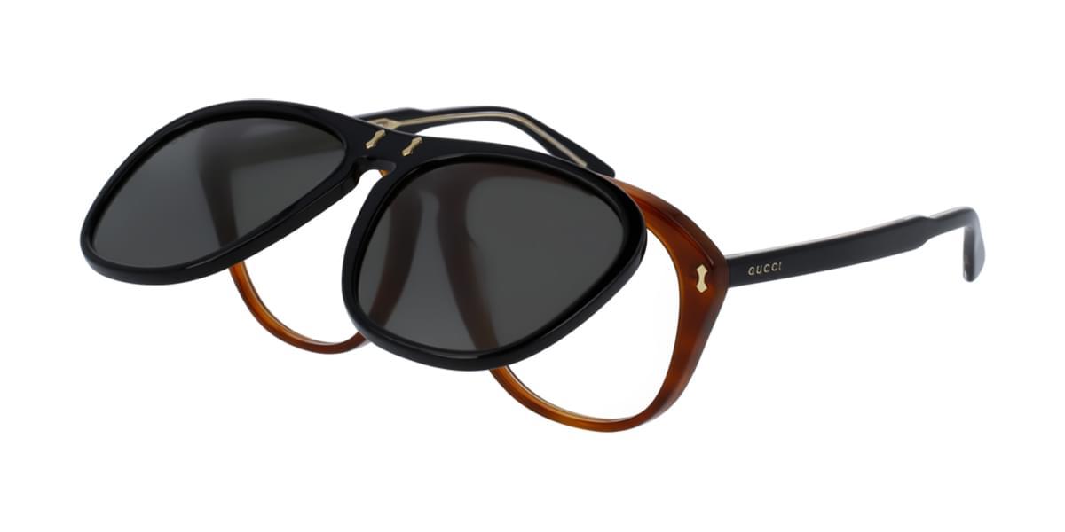 【海外直送】Gucciグッチ メンズ サングラスGucci GG0087S with Clip-On 003 56サイズ 正規品 安い ケース&クロス付
