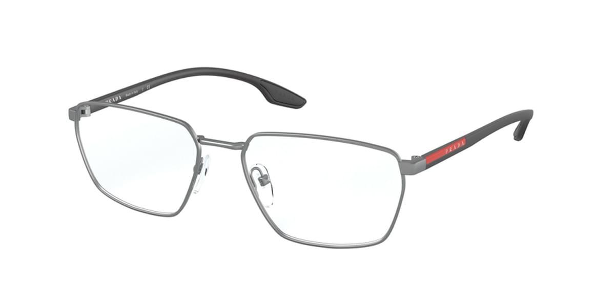 【海外直送】Prada Linea Rossaプラダリネアロッサ メンズ メガネPrada Linea Rossa PS52MV 5731O1 54サイズ 正規品 安い ケース&クロス付 超 軽量 薄い