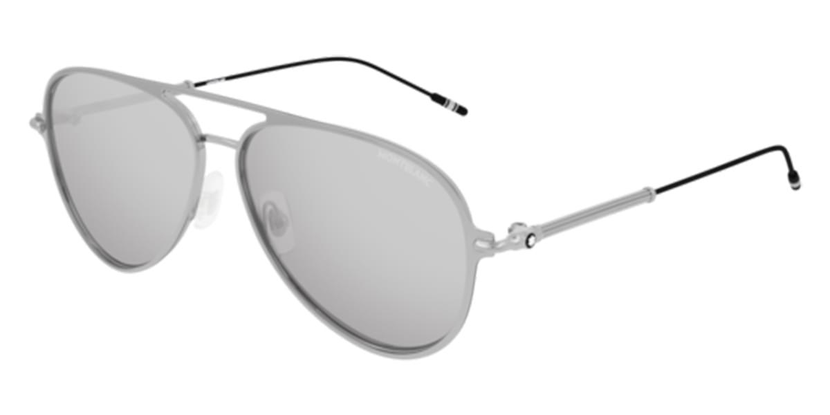 【海外直送】Mont Blancモンブラン メンズ サングラスMont Blanc MB0059S 003 59サイズ 正規品 安い ケース&クロス付 超 軽量 薄い