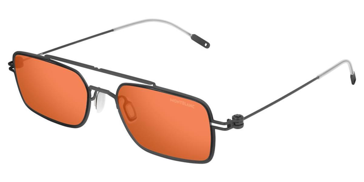 【海外直送】Mont Blancモンブラン メンズ サングラスMont Blanc MB0051S 002 54サイズ 正規品 安い ケース&クロス付UVカット 紫外線カット