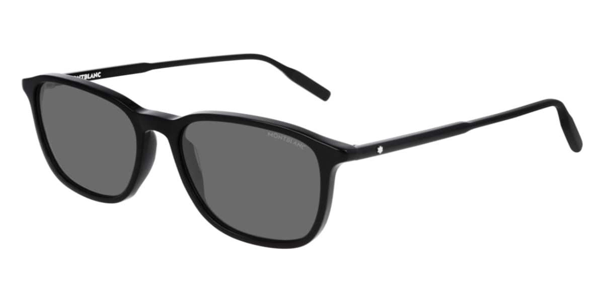 【海外直送】Mont Blancモンブラン メンズ サングラスMont Blanc MB0082S 001 53サイズ 正規品 安い ケース&クロス付