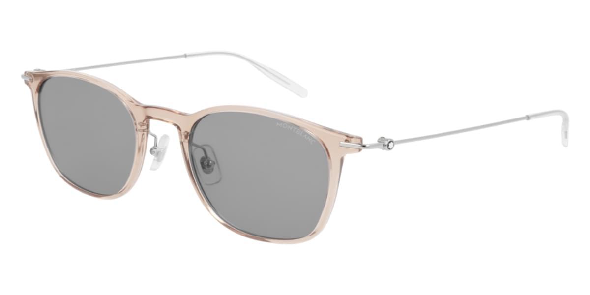 【海外直送】Mont Blancモンブラン メンズ サングラスMont Blanc MB0098S 007 53サイズ 正規品 安い ケース&クロス付