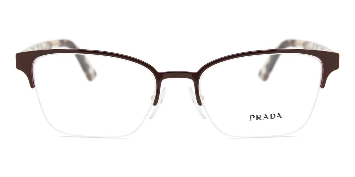 【海外直送】Pradaプラダ レディース メガネPrada PR61XV 5521O1 54サイズ 正規品 安い ケース&クロス付