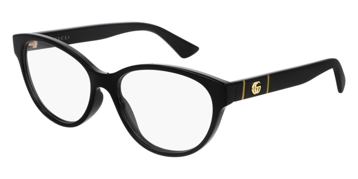 【海外直送】Gucciグッチ レディース メガネGucci GG0633O 001 54サイズ 正規品 安い ケース&クロス付