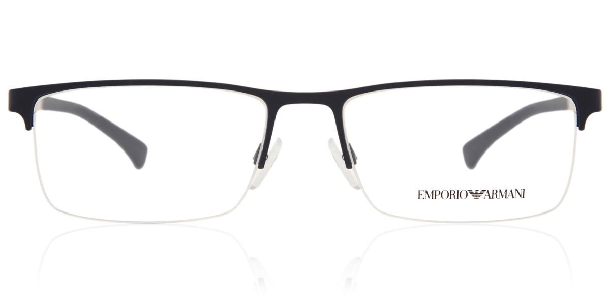 【海外直送】Emporio Armaniエンポリオアルマーニ メンズ メガネEmporio Armani EA1041 3131 53サイズ 正規品 安い ケース&クロス付 超 軽量 薄い