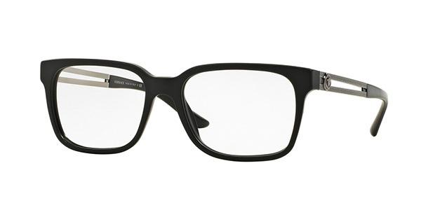 【海外直送】Versaceヴェルサーチ メンズ メガネVersace VE3218 5122 53サイズ 正規品 安い ケース&クロス付