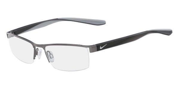 【海外直送】Nikeナイキ メンズ メガネNike 8173 065 52サイズ 正規品 安い ケース&クロス付 超 軽量 薄い