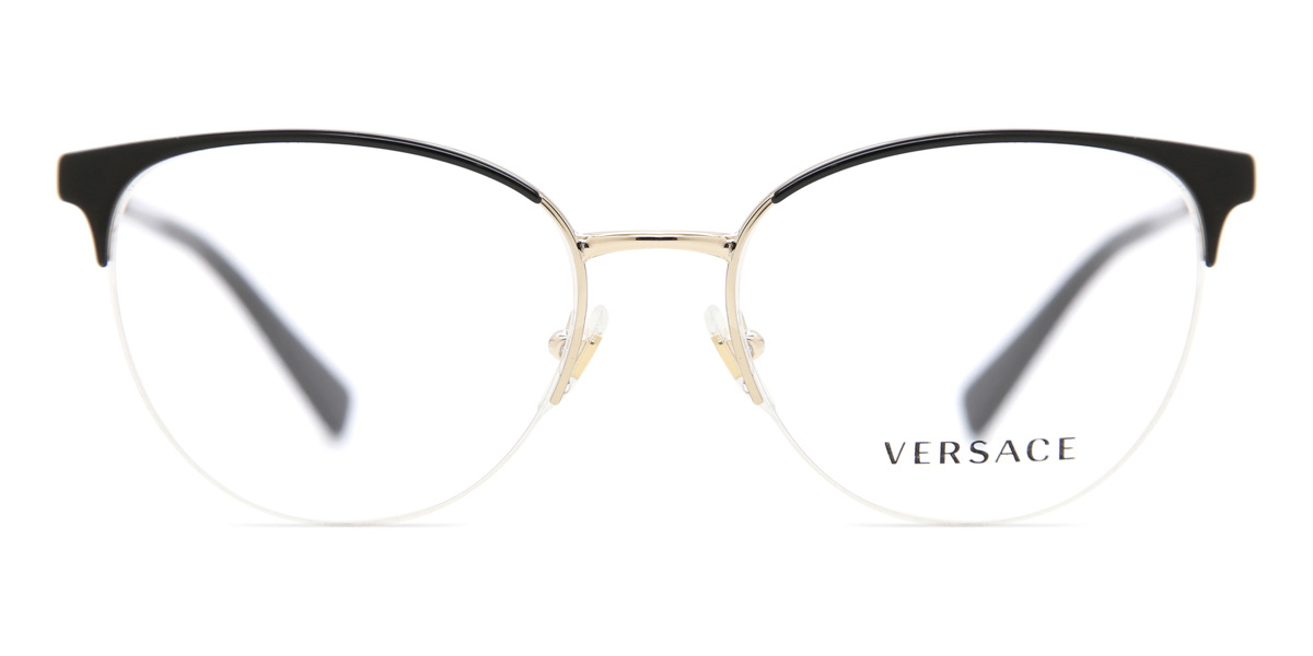 【海外直送】Versaceヴェルサーチ レディース メガネVersace VE1247 1252 52サイズ 正規品 安い ケース&クロス付