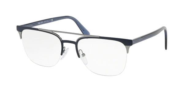 【海外直送】Pradaプラダ メンズ メガネPrada PR63UV LFE1O1 54サイズ 正規品 安い ケース&クロス付