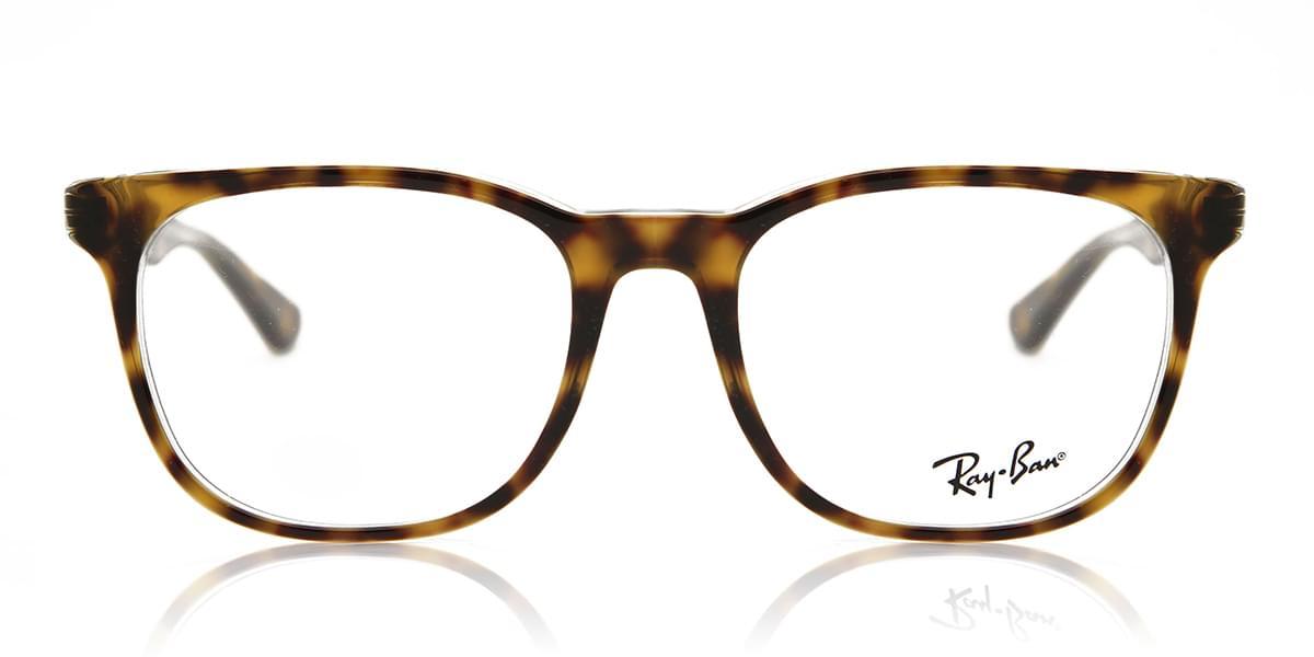 【海外直送】Ray Banレイバン ユニセックス メガネRay-Ban RX5369 5082 52サイズ 正規品 安い ケース&クロス付