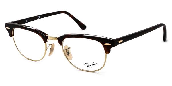 【海外直送】Ray Ban レイバン メンズ メガネ Ray-Ban RX5154 Clubmaster 2372 49 サイズ 正規品 安い ケース付