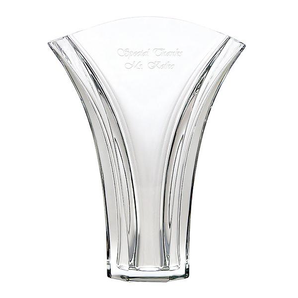 バカラ ギンコ 名入れバカラ花瓶 待望 名入れ花瓶 名入れ 送料無料 気質アップ 新築祝い 花瓶