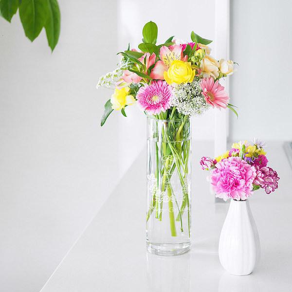 花瓶 ランキング総合1位 フラワーベース 名入れ デザイン 新築祝い 開店祝い 結婚祝い 引越祝い L シリンダー 日本全国 送料無料 名入れ花瓶 母の日 誕生日 プレゼント