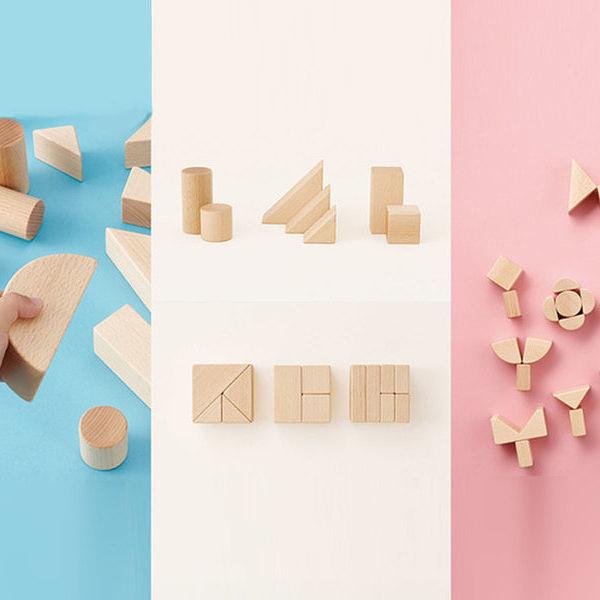 【送料無料】幼児教室監修 シンプルなつみきセット マイファーストブロック ツミン ナチュラル My First Blocks Tsumin -Natural-