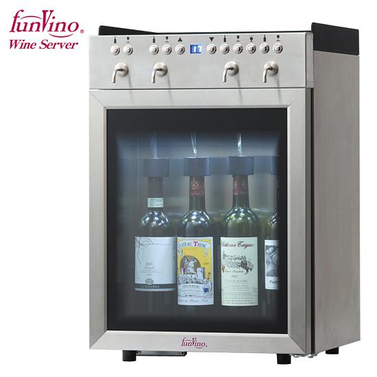 【メーカー直送】 Funvino ワイン・Sakeサーバー 4本用(SC-4) /ファンヴィーノ 【送料無料】