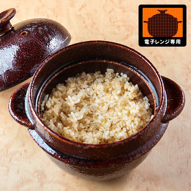 レンジで玄米炊飯セット 【ポイント10倍/送料無料/在庫有/あす楽】【p0907】
