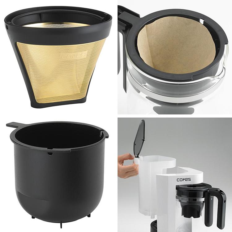 cores 5茶杯电咖啡壶C301WH /这个的fs3gm