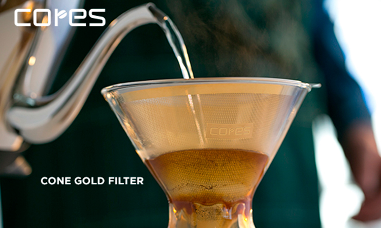 cores cone stainless steel filter (for 1 to 8 cups) / CK