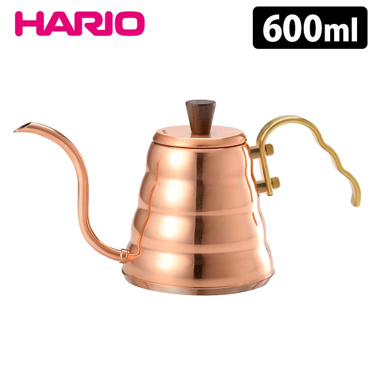HARIO V60ドリップケトル ヴォーノ・カパー 600ml 【只今セール中&ポイント10倍!送料無料/在庫有/あす楽】【s15】【p0827】
