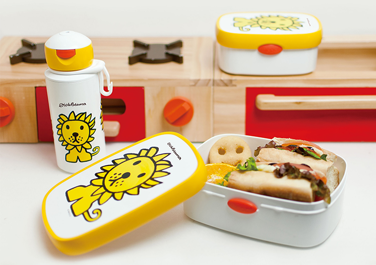Rosti Mepal campus lunch box medium Bruna cow fs3gm