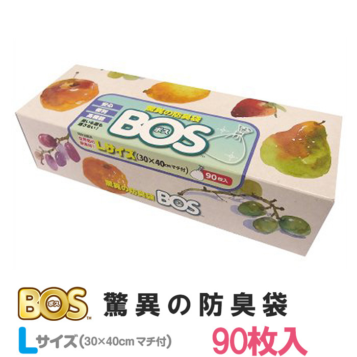 Marvel anti-odour bag BOS boxy L size (90 pieces) / Crillon chemical